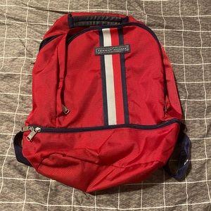 red Tommy Hilfiger backpack